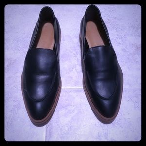 Eveylaine  Black loafers.
